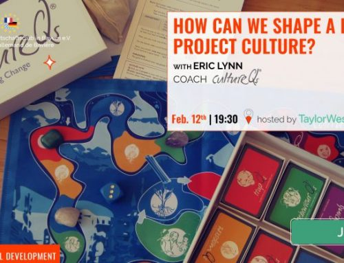 How can we Consciously Shape a Dynamic Project Culture? 12th Feb, Munich