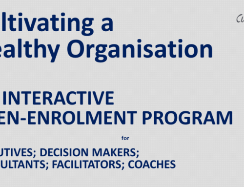 Cultivating Healthy Organisations – An Open Enrollment Program