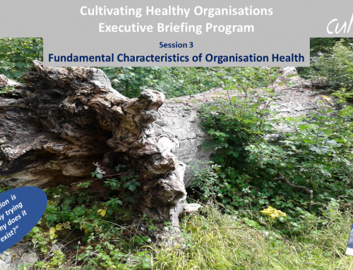 Characteristics of Organisation Health