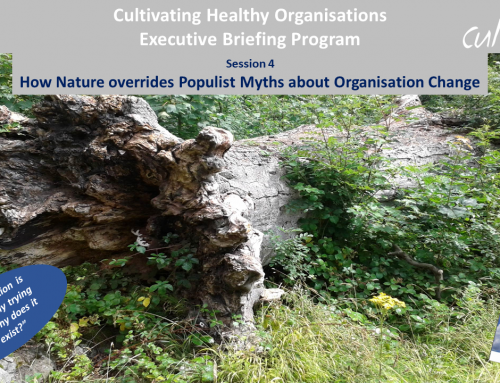 How Nature overrides Populist Myths about Organisation Change