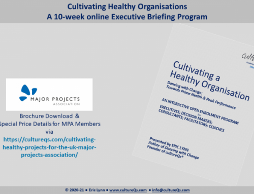 Cultivating Healthy Projects – in association with the UK Major Projects Association