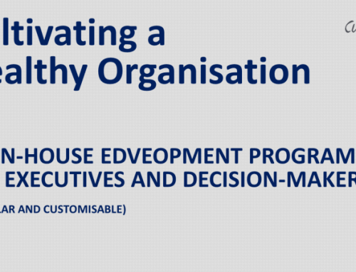 Cultivating Healthy Organisations: In-House Development Program