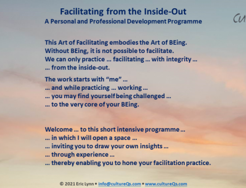 Facilitating from the Inside-Out